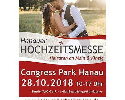 Ausstellung 'Hanauer Hochzeitsmesse' 2018